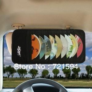 Free Shipping 12Psc Car using CD holder Storage Bag/CD Bag