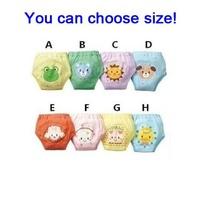 32pcs/lot waterproof baby training pants infant learning pants baby trainers short pants free shipping