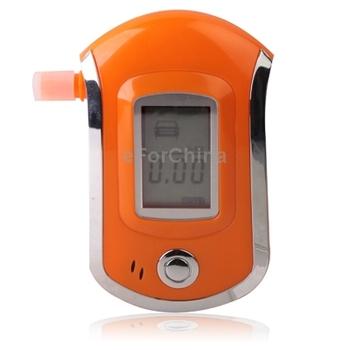 3 digitals LCD Display Breath Alcohol Tester Analyzer, Orange