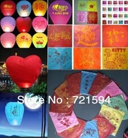 Free Shipping Wishing Lamp Sky Chinese Lanterns Birthday Wedding Papty SKY LAMP