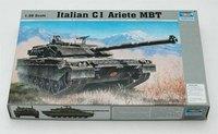 Trumpeter  00332 1/35 scale Italian C-1 Ariete MBT plastic model kit