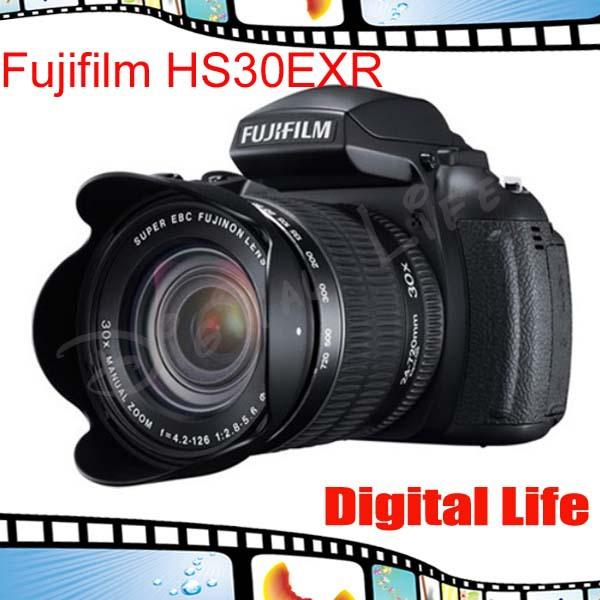 16MP 30x Opt Original Digital Camera Finepix HS30EXR/HS233EXR era 24-720mm Lens digital photography(China (Mainland))