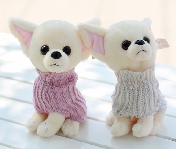 Plush toy dog birthday gift doll wedding dolls doll clothes chigoes(China (Mainland))