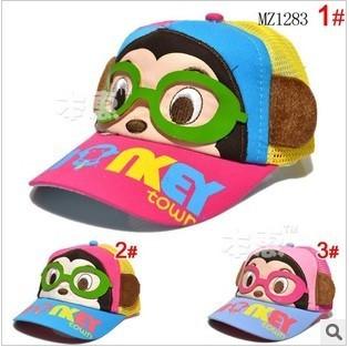 Free ship children hat,baby Visors cap, kids top hat, baby baseball cap,wholesale  webs hat,boys/girls patchwork cap