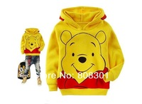 2012 new Baby coat,kids outfit,Quality cotton boys outerwear / cartoon pattern baby sweater --- in stock,6pcs/lot    1009