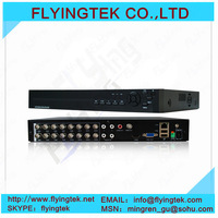 Network H.264 16CH Realtime Stand alone DVR mini 16 channel DVR  mini 16 channel DVR  free shipping