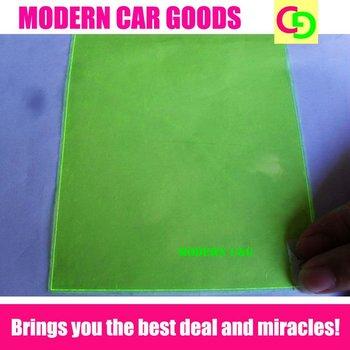 0.4m*30m light film 3 layers yellow color headlight vinyl car wrap foglight tint taillight film