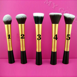 Professional Cosmetic Stipple Fiber Powder Blush Brush Foundation Makeup Tool[000179](China (Mainland))