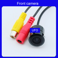 Front car Mini 18.5mm camera Rearview Car Camera  12V reversing 170 degree waterproof Camera Freeshipping AR-F-006