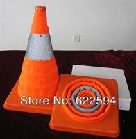 Reflective traffic cone barricades cone telescopic lift road cone folding road cone