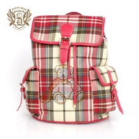DANNY BEAR hot sell new summer lattice red womens backpack bag fashion DB13520-21