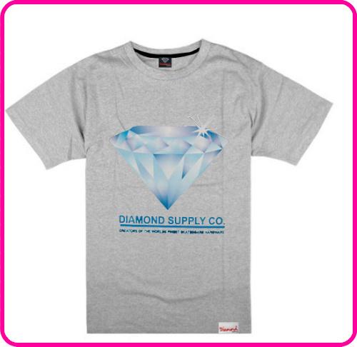 Stock Free Shipping diamond brand cheap men tops fashion t shirt clothing express t shirt with most discount diamond t shirt(China (Mainland))