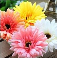 Gerbera hair accessory corsage hat flower hair accessory hair clip daisy FREE SHIPPING 3pcs/lot