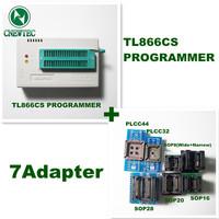 7ADAPTERS+ V5.91 MiniPro TL866 Programmer TL866CS USB Universal Programmer + 13143 chips