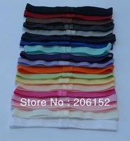 Free shipping 50pcs/lot  5 colors baby elastic headband stretch FOE headband,good elastic FOE glue headband for girls