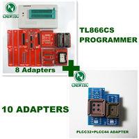 10ADAPTERS+ V5.91 MiniPro TL866 Programmer TL866CS USB Universal Programmer + 13143 chips