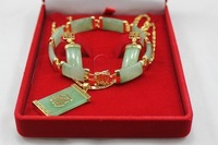 Free shipping Fashion prom jewelry sets  18K gold plated Rhinestone Necklace Bracelet Earring