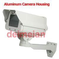 CCTV Housing Lacte Aluminum Camera Shield Housing Case For Security CCTV Box Camera Bracket