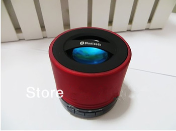 wholesals New Arrival Mini Portable Rechargeable Bluetooth Wireless Bluetooth Stereo Speaker Support  TF Card 1pcs/lot
