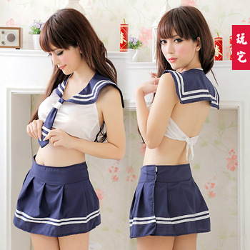 School uniform school wear game uniforms temptation matelot sexy short skirt split sexy plus size underwear