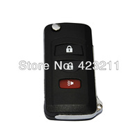 Flip Folding Remote Key Shell Case For Nissan Titan Frontie Armada 3BT FT0243