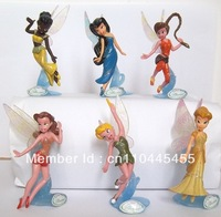 FAIRIES MOVIE EXCLUSIVE FIGURE 6 PCS COLLECTOR SET FAWN IRIDESSA ROSETTA