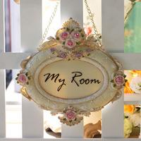 Finaning myroom decoration series door plate indicator  / msg adjust shipping fee