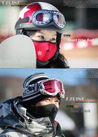 Wholesale/Drop shopping ski mask Neoprene Neck Warm Half Face Mask Winter Veil For Sport Bike Ski Snowboard [y002042]