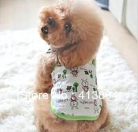 Wholesale!  Fashion Cute Rubbit Pattern Pet Dog Clothes T-Shirt S,M,L,XL 4 Size Available, Free Shipping