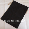 10piece/pack Free shipping  Double layer Plain Black Drawstring Bags  Reusable Cotton Bags Extra Large Gift Bags mix color