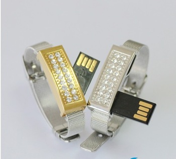 8g exquisite personalized usb flash drive girls bracelet ,gift