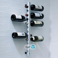 Stainless steel wine rack tubular theroom wall wine rack round tube theroom 12-wine theroom