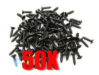 50pcs Black Color Pickguard Screws Plate Screws for ST Start Style Guitar M557