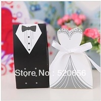 bridal and groom wedding candy boxes chocolate candy gift boxes wedding candy bags