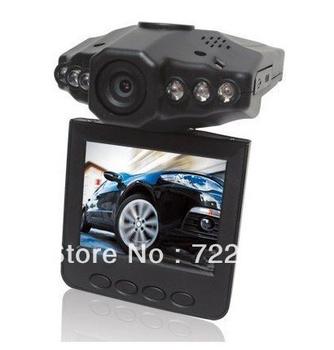 Christmas Gift Car DVR Camera with 6 IR LED H198 Vehicle camera 100PCS/LOT