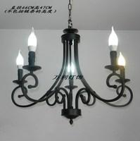 Lighting lamps candle pendant light iron lamp rustic lighting candle fashion pendant light wl-l2