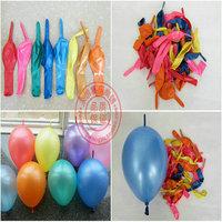 10 pearlescent color tail ball balloon needle balloon balloon 100