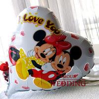 Cartoon series MICKEY MOUSE 18 aluminum balloon decoration air foil balloon party birthday navidad decoration