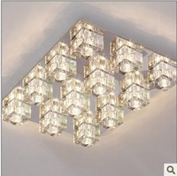 Ceiling light , modern crystal lamp living room remote control lamp stainless steel low voltage lamp 12 ice