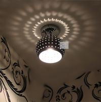 Chrome aisle lights balcony lamp metal ceiling lantern xd1205-f