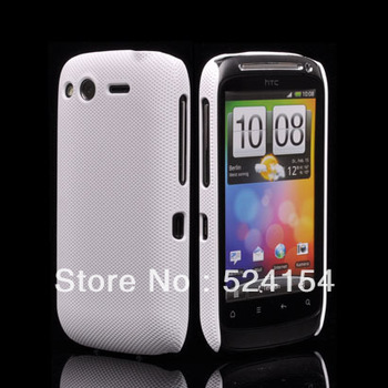 NEW FASHION PLASTIC NET HARD DREAM MESH HOLES SKIN CASE PROTECTOR GUARD COVER FOR HTC Desire S G12 FREE SHIPPING