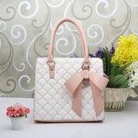 Color block bow bags 2013 female fashion candy color gentlewomen shoulder bag messenger bag