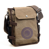 2013 outdoor canvas bag shoulder bag cross-body bag small man bag casual bag vintage bags