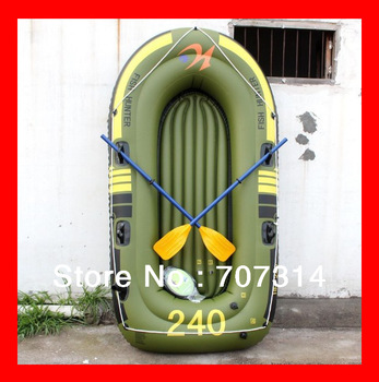 Free shipping  thickening three people fishing boat inflatable dinghy boat pvc boat  canoe raft wakeboard  boat  navigator boat