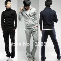 Men's fleece suit fleece jacket suits Clothes & Pants Two colours Four Size polo jacket sport suit men
