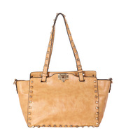 Hot-selling single 2012 rivet big bag fashion all-match women's handbag cross-body khaki