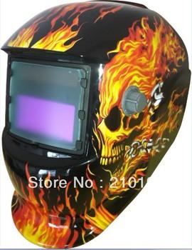 LI Battery solar Auto darkening welding helmet/face mask/Electric welder protect ...