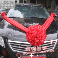 wedding bouquet Wedding supplies chinese style wedding married wedding car decoration red silk bouquet guelder red