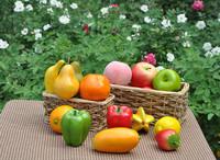Plastic fruit artificial fruit artificial Decorative fruit  fake fruit