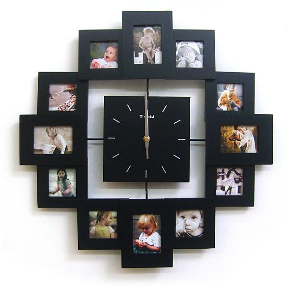 Настенные часы своими руками с фотографиями 84